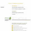 PTD ALPOLIC/fr 4mm, 6mm