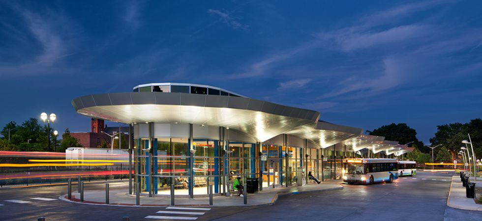Hampton Roads Transit Center in Norfolk