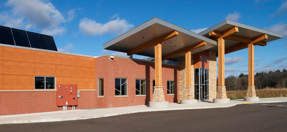 Menominee Tribe New Transportation Center
