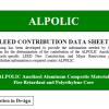 LEED- ALPOLIC Anodized Material