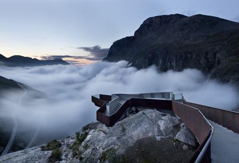 Trollstigen National Tourist Route by Reiulf Ramstad Architects
