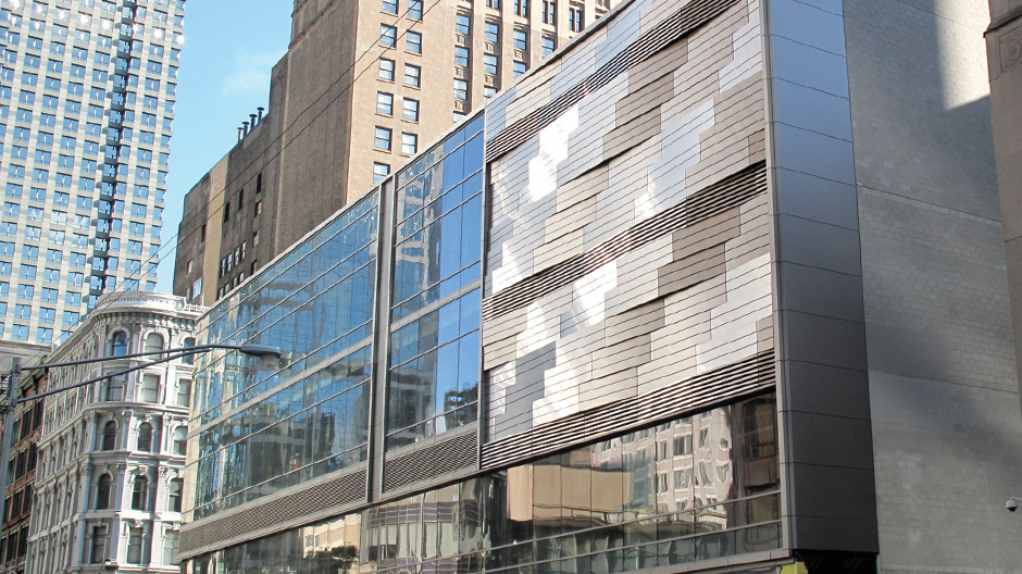 ALPOLIC MCM Produces Woven Stainless Steel Exterior