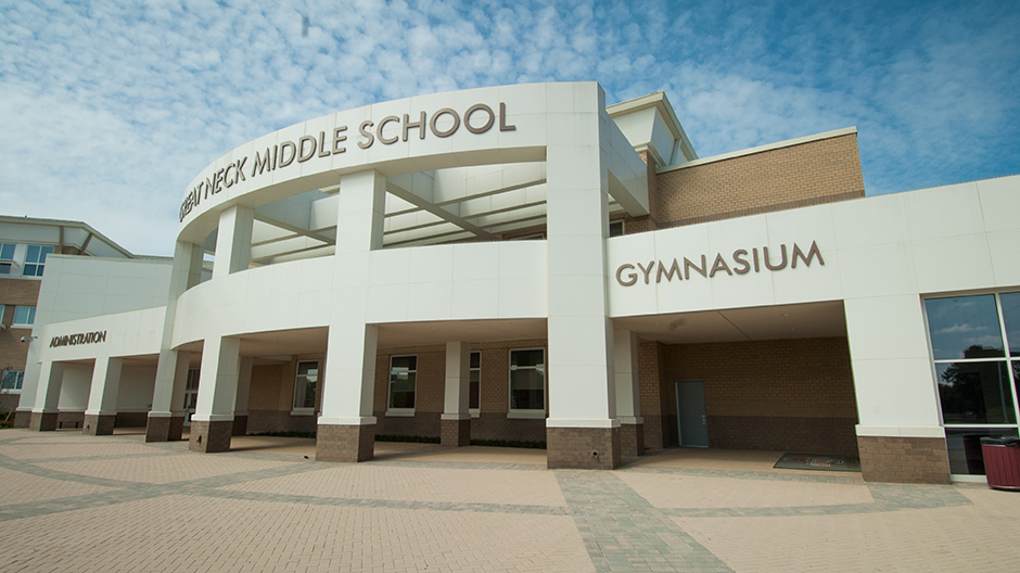 ALPOLIC ACM Panels Beautifully Revitalize Middle School