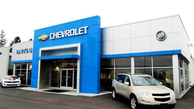 ALPOLIC ACM Panels Highlight Illinois Car Dealership