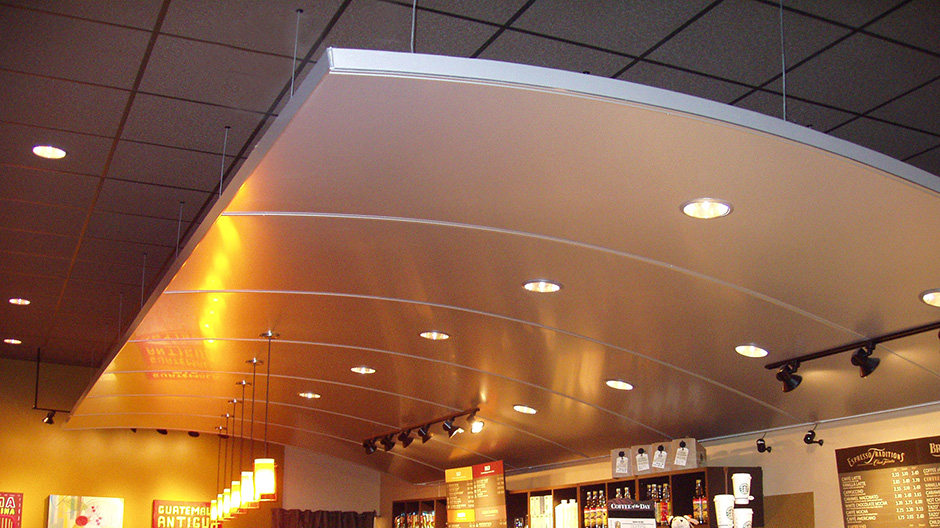 ALPOLIC Metallic Panels Refresh D.C. Starbucks