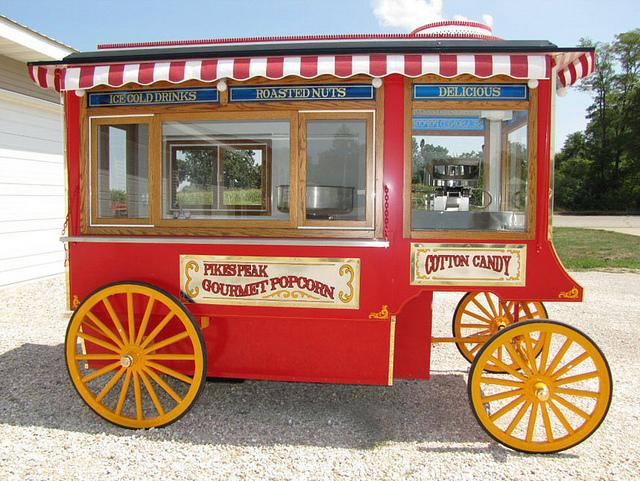 ALPOLIC Composite Panels Renew Famous Gourmet Popcorn Wagon