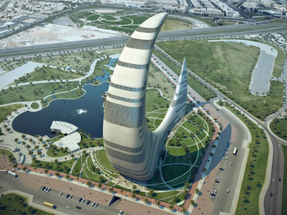 Futurism Blends With Tradition at Iconic Dubai Tower