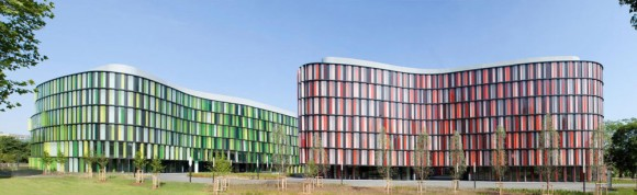 Prismatic Sustainable Buildings Imitate The Changing Seasons