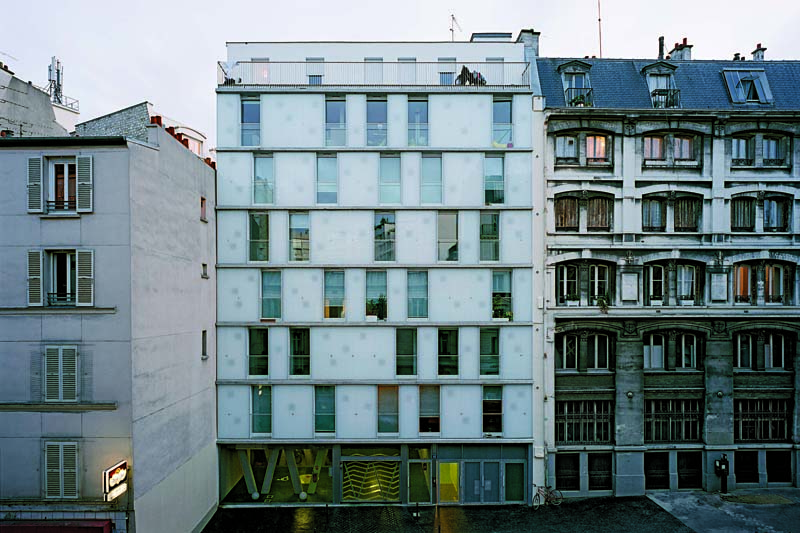 45 rue Louis Blanc, Paris X Program by ECDM Architectes