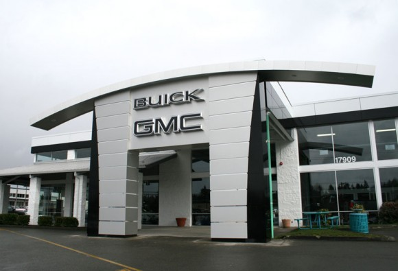 Composite panels ideal for the auto industry alpolic for Exterior building products