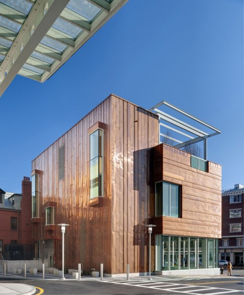 Museums Copper Cladding Renews Massachusetts Healthcare Facility
