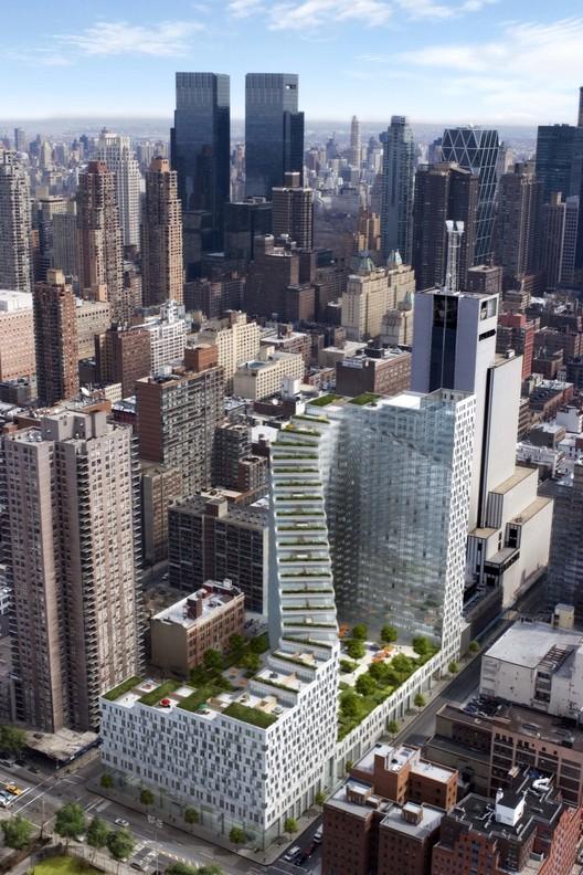 Incredible Zigzag Building Features Rooftop Gardens