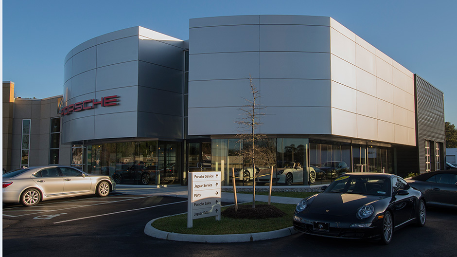 ALPOLIC ACM Panels Modernize Local Dealership