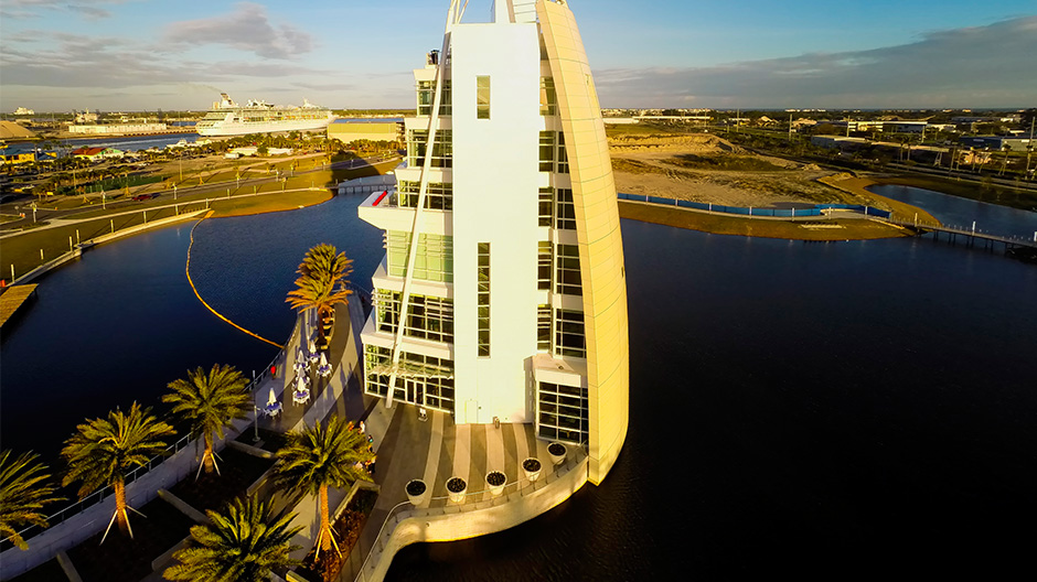 From Sea to Space: Port Canaveral Exploration Tower
