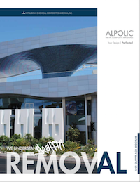 ALPOLIC Graffiti Removal Brochure
