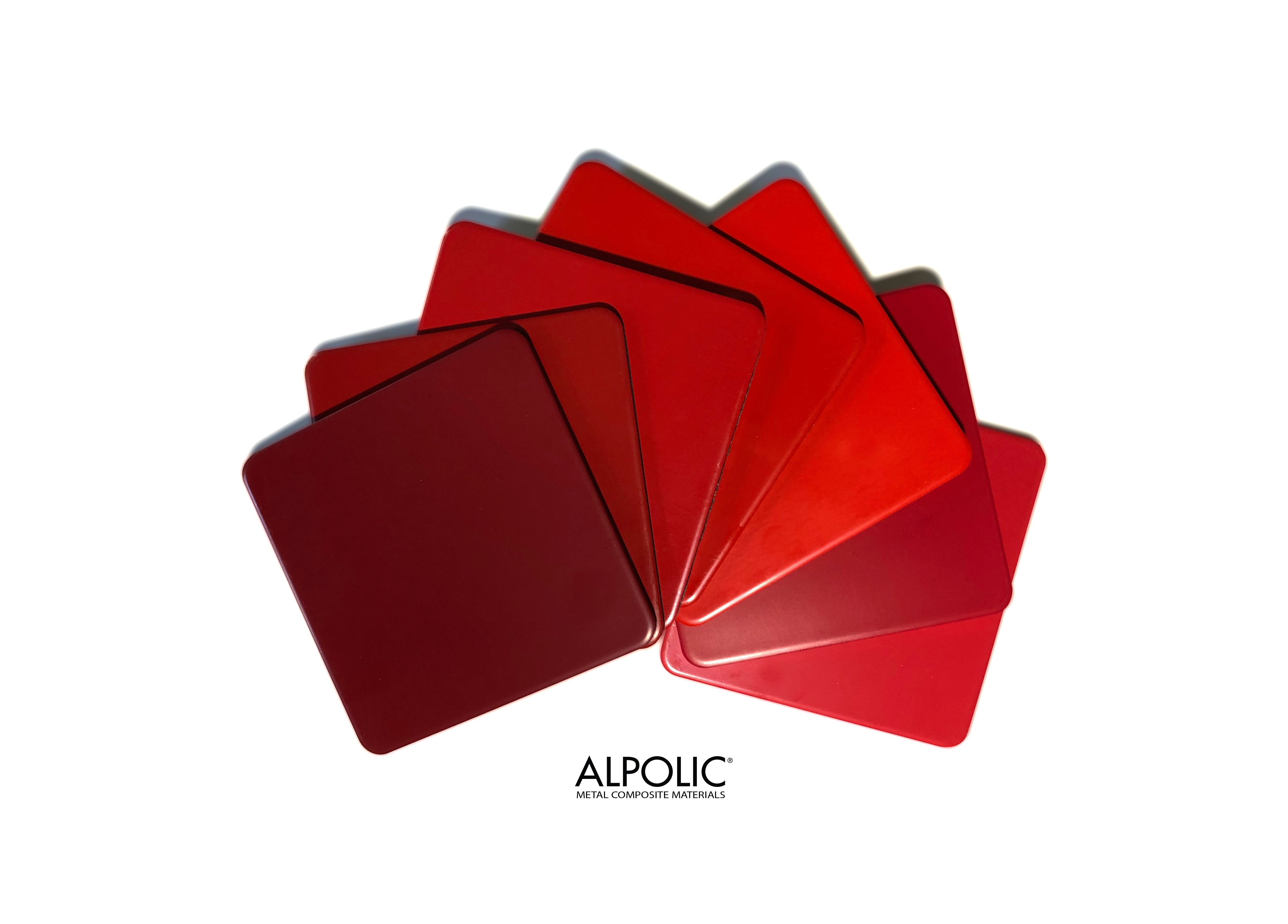 Red Is Not Simply Red at ALPOLIC®