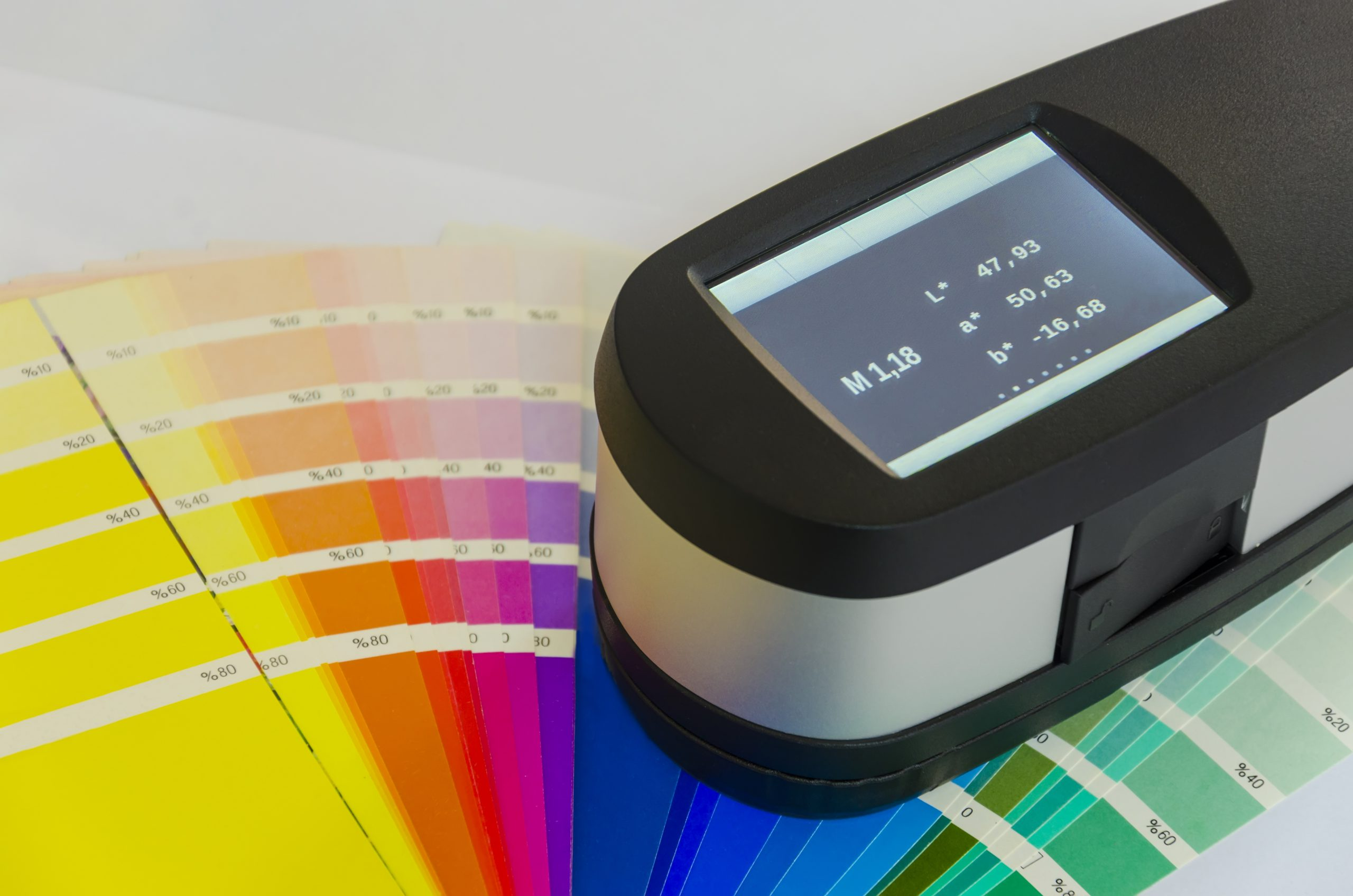 How Is Color Measured? Calculating Delta E
